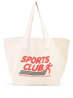 Sporty & Rich сумка-тоут Sports Club