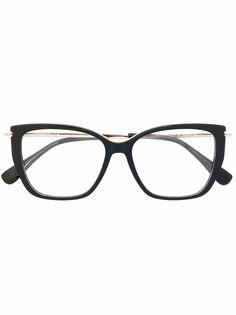 Max Mara солнцезащитные очки в оправе кошачий глаз