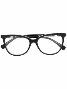 Max Mara очки в оправе кошачий глаз