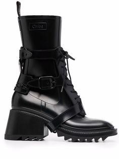 Chloé ботинки Betty с ремешками