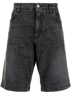 Dolce & Gabbana джинсовые шорты с эффектом потертости