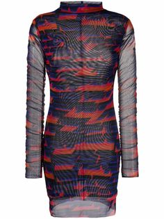 Patrizia Pepe платье мини с геометричным принтом