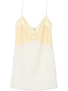 Marc Jacobs короткое платье-комбинация