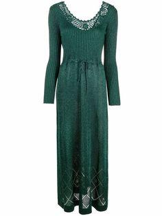 A.N.G.E.L.O. Vintage Cult длинное платье 1970-х годов