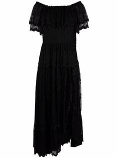 A.N.G.E.L.O. Vintage Cult платье 1970-х годов с кружевом