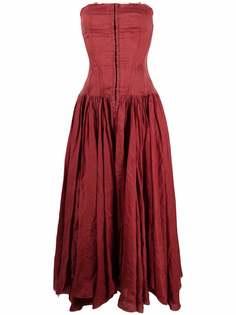 A.N.G.E.L.O. Vintage Cult платье 2000-х годов со сборками