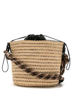 Osklen соломенная сумка-ведро
