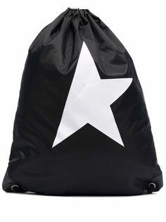 Golden Goose рюкзак Star Collection с кулиской