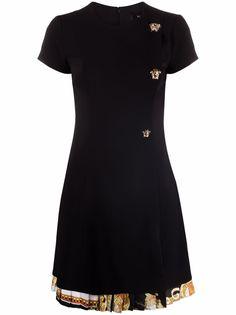 Versace платье с принтом Baroque