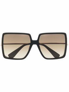 Max Mara солнцезащитные очки в квадратной оправе
