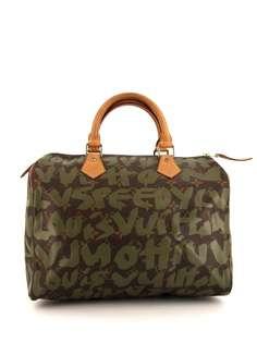 Louis Vuitton сумка Speedy 30 2001-го года из коллаборации со Stephen Sprouse