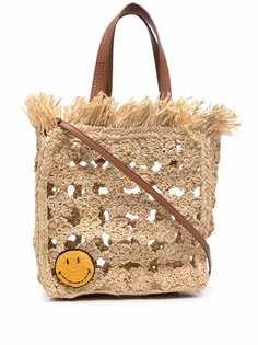 Sandro Paris соломенная сумка-тоут