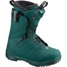 Ботинки сноубордические Salomon 19-20 Pearl Deep Teal/Coral Reef-40,5 EUR