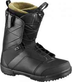 Ботинки сноубордические Salomon 19-20 Faction Black-40,0 EUR