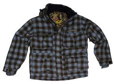 Куртка для сноуборда Burton Man Blue/Brown Square - L