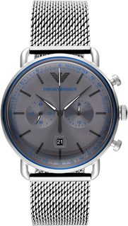 Мужские часы в коллекции Aviator Мужские часы Emporio Armani AR11383