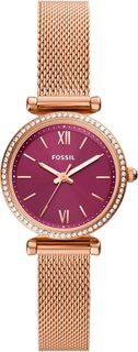 Женские часы в коллекции Carlie Mini Женские часы Fossil ES5011