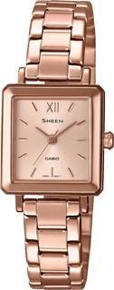 Японские женские часы в коллекции Sheen Женские часы Casio SHE-4538PG-4AUDF