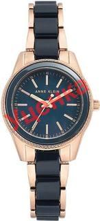 Женские часы в коллекции Plastic Женские часы Anne Klein 3212NVRG-ucenka