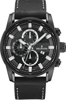 Швейцарские мужские часы в коллекции Orlando Мужские часы Delbana 44601.662.6.031