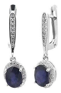Серебряные серьги Серьги Evora 628908-e