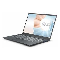 "Ноутбук MSI Modern 15 A11SBL-462RU, 15.6"", IPS, Intel Core i5 1135G7 2.4ГГц, 8ГБ, 512ГБ SSD, NVIDIA GeForce MX450 - 2048 Мб, Windows 10, 9S7-155226-462, серый"