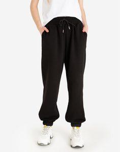 Чёрные спортивные брюки Gloria Jeans