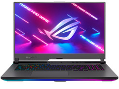 Ноутбук ASUS ROG Strix G17 G713QM-HX038 90NR05C2-M01360 (AMD Ryzen 7 5800H 3.2Ghz/16384Mb/512Gb SSD/NVIDIA GeForce RTX 3060 6144Mb/Wi-Fi/Bluetooth/Cam/17.3/1920x1080/no OS)