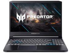 Ноутбук Acer Predator Triton 300 PT315-52-57PP NH.Q7CER.00B (Intel Core i5 10300H 2.5Ghz/16384Mb/512Gb SSD/nvidia GeForce GTX 1660 Ti 6144Mb/Wi-Fi/Bluetooth/Cam/15.6/1920x1080/DOS)