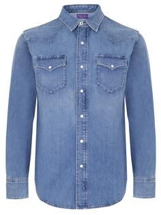 Рубашка Regular Fit джинсовая Ralph Lauren