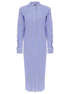 Платье-рубашка шелковое Ralph Lauren