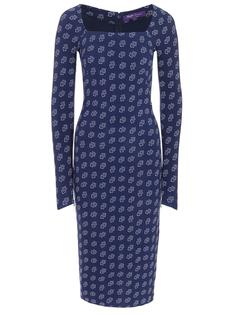 Платье-футляр с принтом Ralph Lauren