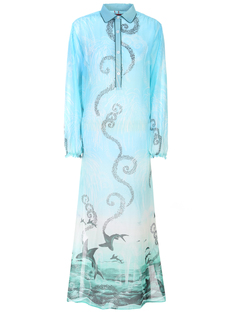Платье с принтом F.R.S. For Restless Sleepers