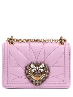 Сумка кожаная Devotion Mini Dolce & Gabbana