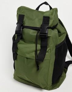 Рюкзак с несколькими карманами SVNX-Зеленый цвет