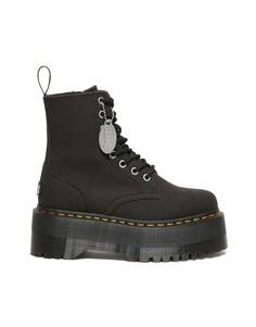 Черные ботинки Dr Martens x X Girl Jadon Max-Черный цвет