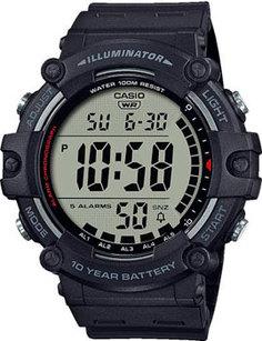 Японские наручные мужские часы Casio AE-1500WH-1AVEF. Коллекция Digital