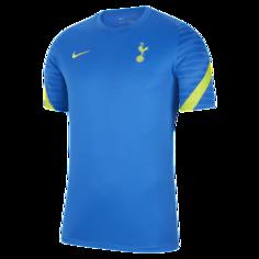 Мужская игровая футболка с коротким рукавом Tottenham Hotspur Strike - Синий Nike