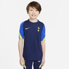 Игровая футболка с коротким рукавом для школьников Nike Dri-FIT Tottenham Hotspur Strike - Синий