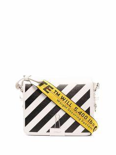 Off-White сумка на плечо Diag с логотипом