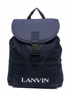 LANVIN Enfant рюкзак с логотипом и пряжкой