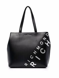 John Richmond сумка-шопер с логотипом
