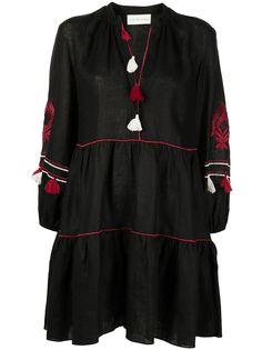Sachin & Babi платье Avery с кисточками