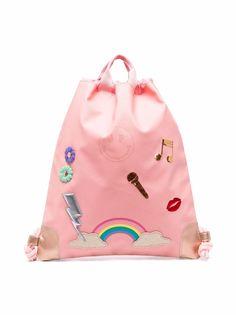 Jeune Premier рюкзак с кулиской и аппликацией