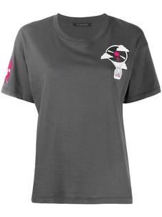 Mr & Mrs Italy футболка с нашивками