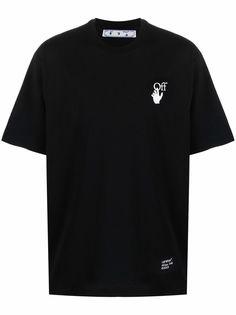 Off-White футболка с логотипом Carav Arrows