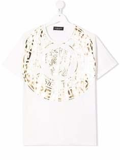 Versace Kids футболка с логотипом