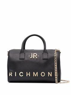 John Richmond сумка-тоут с верхними ручками и логотипом