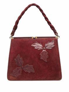 A.N.G.E.L.O. Vintage Cult сумка 1950-х годов с цветочной аппликацией