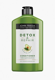 Кондиционер для волос John Frieda для восстановления и гладкости волос DETOX & REPAIR, 250 мл